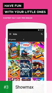 Showmax app screenshot 3