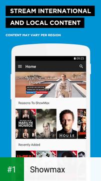 Showmax app screenshot 1