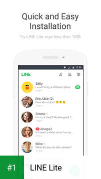 LINE Lite app screenshot 1