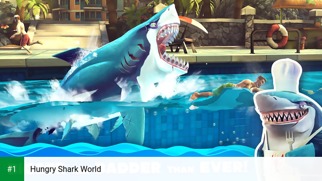 Hungry Shark World app screenshot 1