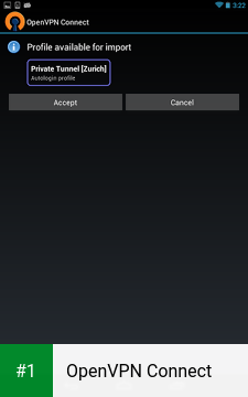 OpenVPN Connect app screenshot 1