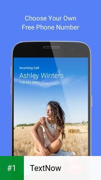 TextNow app screenshot 1
