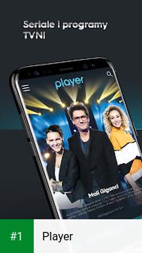 Player app screenshot 1