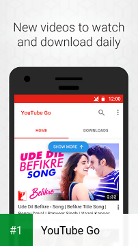YouTube Go app screenshot 1