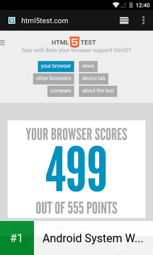 Android System WebView app screenshot 1