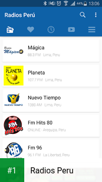Radios Peru app screenshot 1