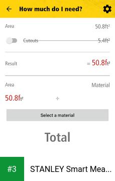 STANLEY Smart Measure Pro app screenshot 3