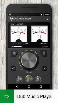 Dub Music Player + Equalizer apk screenshot 2