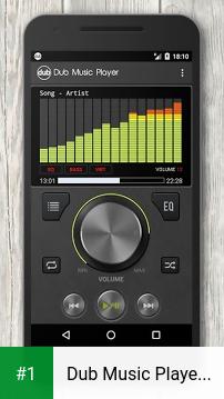 Dub Music Player + Equalizer app screenshot 1