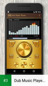 Dub Music Player + Equalizer app screenshot 3