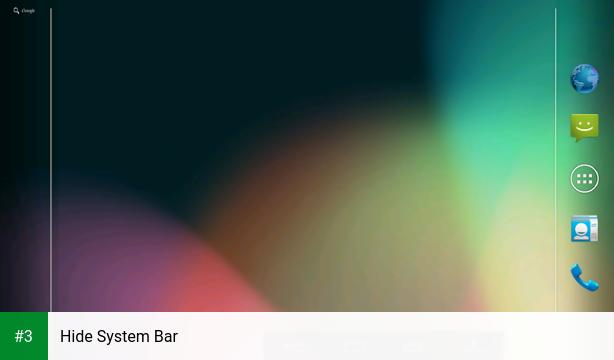 Hide System Bar app screenshot 3