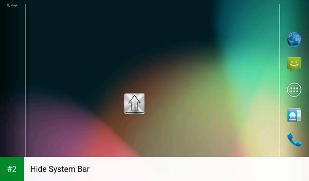 Hide System Bar apk screenshot 2