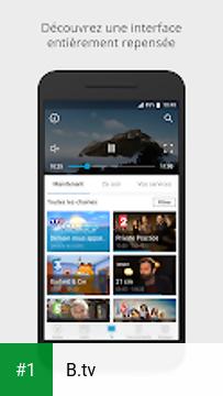 B.tv app screenshot 1