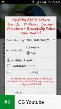 OG Youtube app screenshot 3