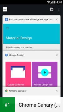 Chrome Canary (Unstable) app screenshot 1