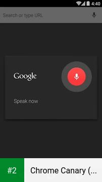 Chrome Canary (Unstable) apk screenshot 2