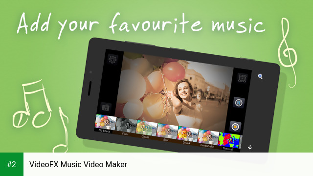 VideoFX Music Video Maker apk screenshot 2