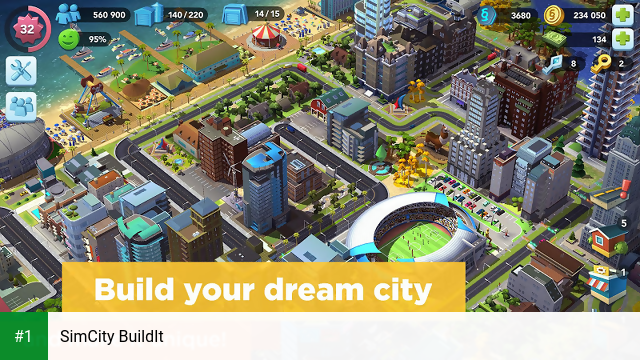 SimCity BuildIt app screenshot 1