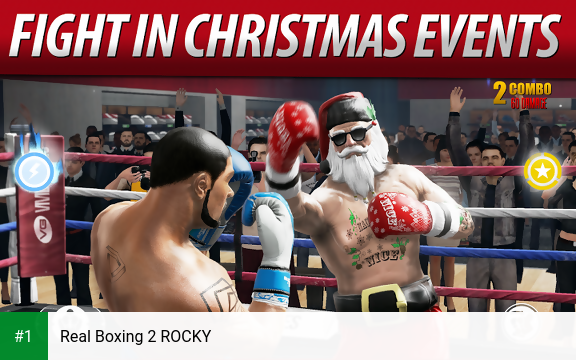 Real Boxing 2 ROCKY app screenshot 1