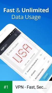 VPN - Fast, Secure & Unlimited WiFi with VyprVPN app screenshot 1