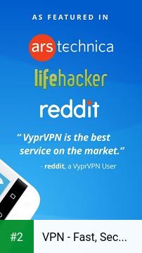 VPN - Fast, Secure & Unlimited WiFi with VyprVPN apk screenshot 2