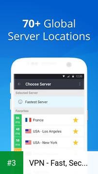 VPN - Fast, Secure & Unlimited WiFi with VyprVPN app screenshot 3