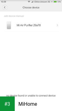 MiHome app screenshot 3