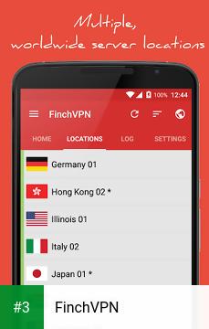 FinchVPN app screenshot 3