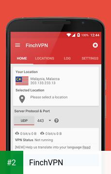 FinchVPN apk screenshot 2