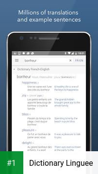 Dictionary Linguee app screenshot 1