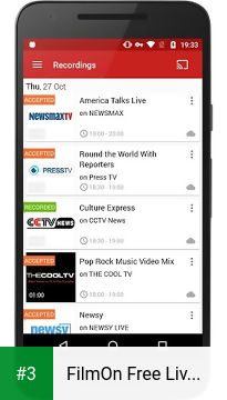FilmOn Free Live TV app screenshot 3