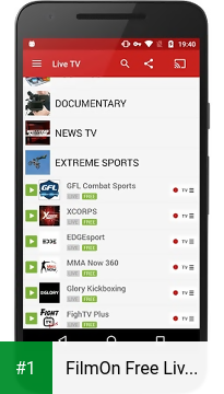 FilmOn Free Live TV app screenshot 1