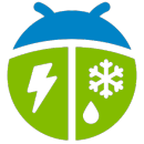 Weather by WeatherBug app icon