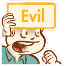 Evil Minds: Dirty Charades! app icon