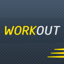 Gym Workout Tracker & Trainer app icon