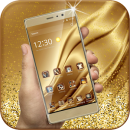 Gold Luxury Deluxe Theme app icon
