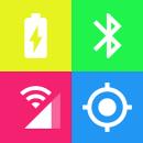 Color status bar app icon