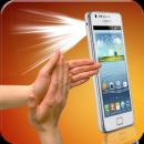 Flashlight on Clap app icon