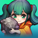 Grow Stone Online : 2d pixel RPG, MMORPG game app icon