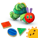 Hungry Caterpillar Shapes and Colors app icon