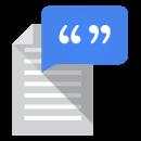 Google Text-to-Speech app icon
