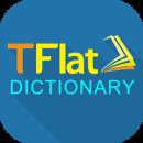 English Vietnamese Dictionary TFlat app icon