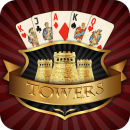 Towers TriPeaks: Classic Pyramid Solitaire app icon