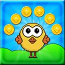 Happy Chick - Platform Game app icon