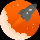 Rocket Browser app icon