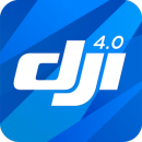 DJI GO 4--For drones since P4 app icon