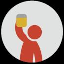iPuke: Drinking game app icon