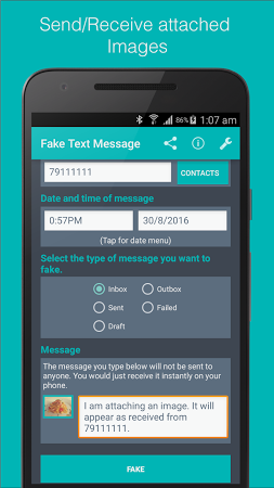 Text - Version Latest Apk Fake Android For Message Download Free