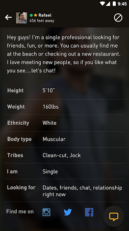 Grindr APK Latest Version Free Download For Android - Height checking app