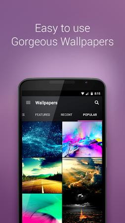 ... ZEDGE™ Ringtones & Wallpapers app screenshot ...